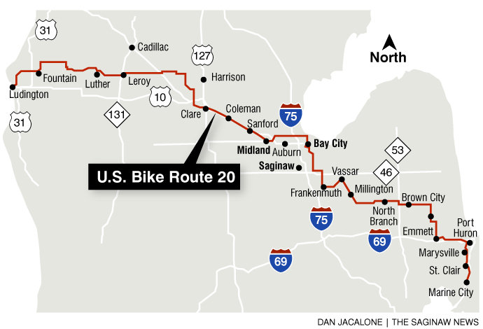 USBR 20 (Michigan bike highway)