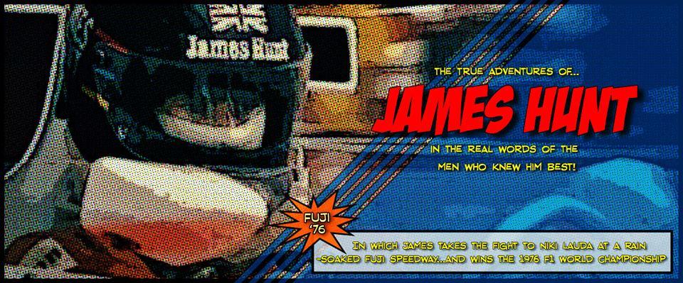 Mclaren F1 Makes James Hunt Comic Strip