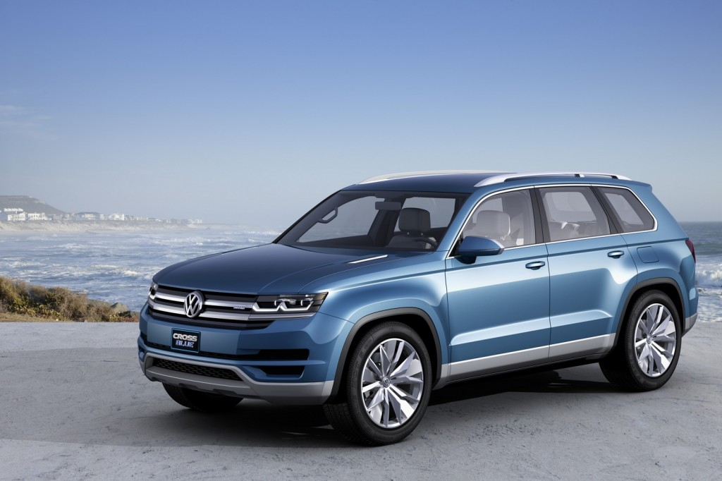 Volkswagen CrossBlue Concept: Mid-Size 3-Row Crossover Coming