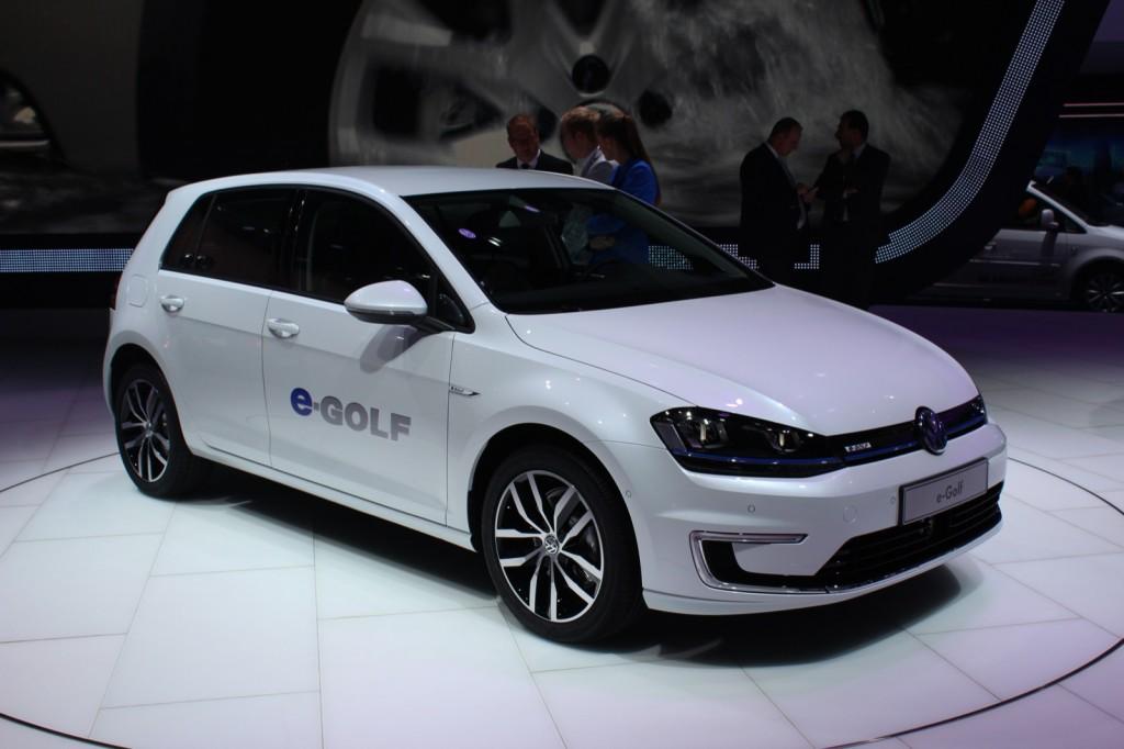 Volkswagen e-Golf  -  2013 Frankfurt Motor Show