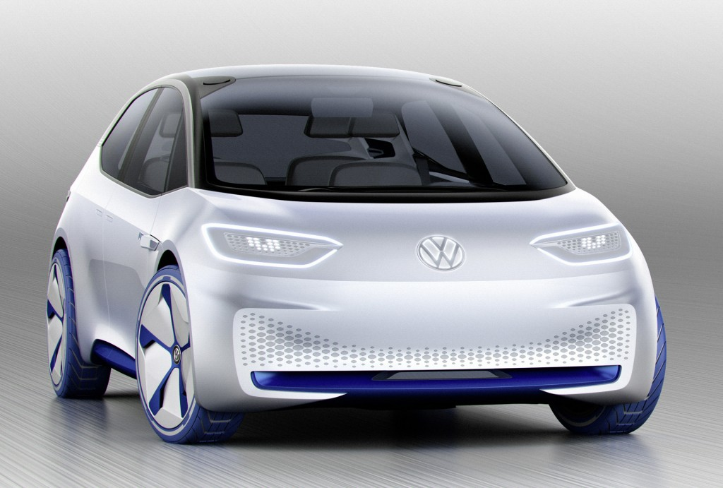 VW teases new ID electric car concept at 2016 Paris Motor Show