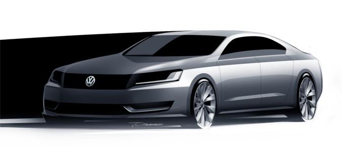 Volkswagen New Mid-size Sedan