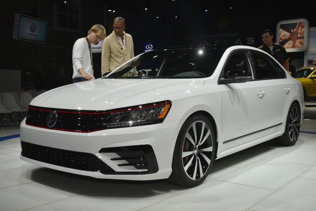 Image: Volkswagen Passat GT concept, 2016 Los Angeles auto show,