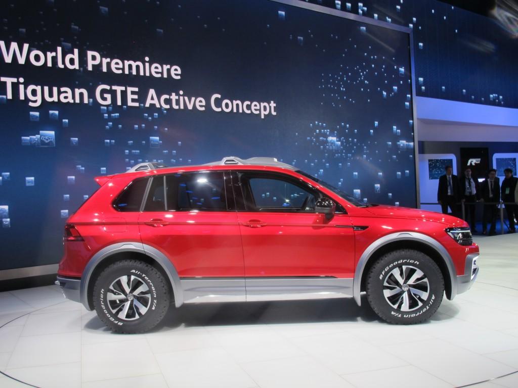 Image Volkswagen Tiguan Gte Active Concept Size 1024 X