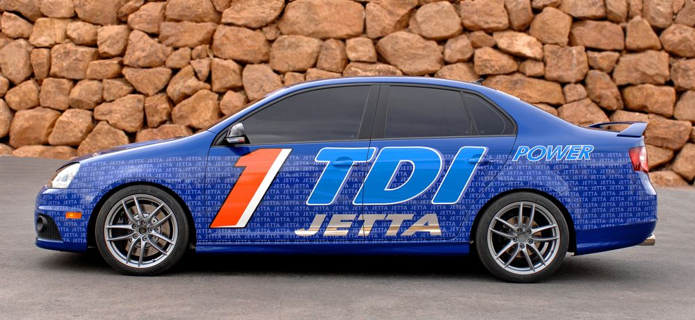 VW Races Jetta TDI Diesels to Prove Efficiency, Cleanliness