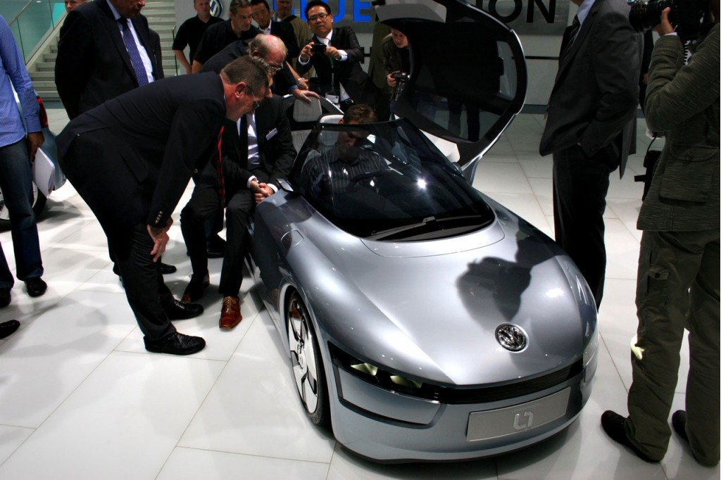Preview: 157 MPG Volkswagen L1 Concept