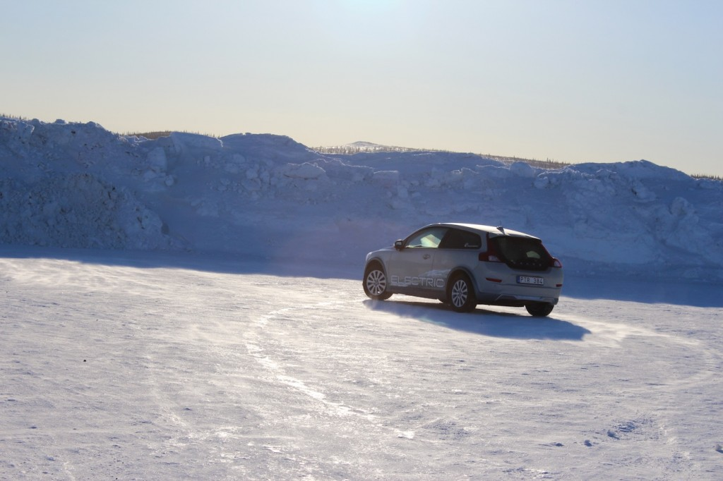 Volvo C30 Electric Arctic Test Drive