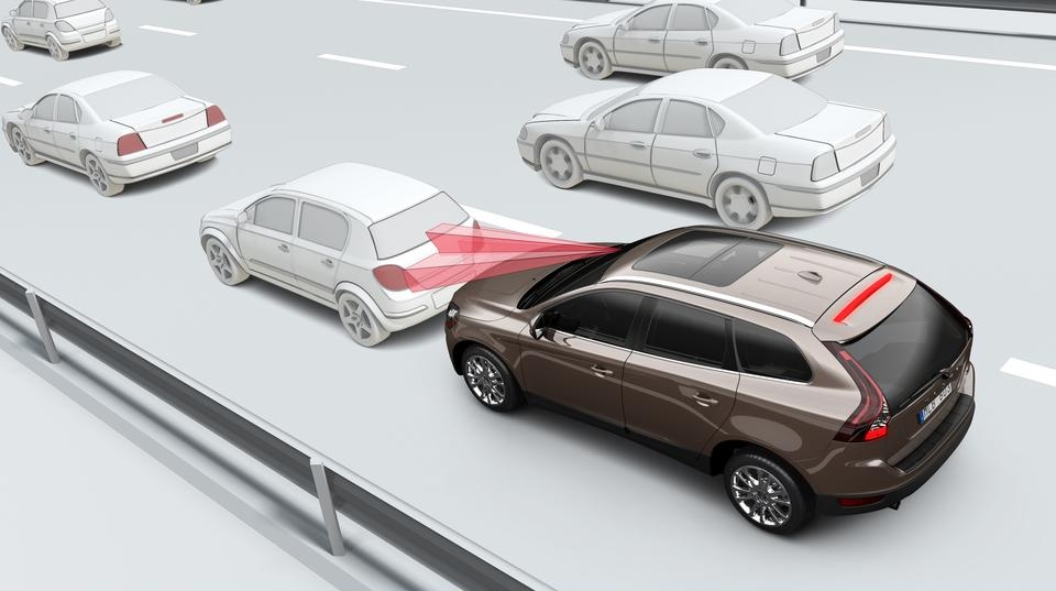 Volvo City Safety collision-avoidance system