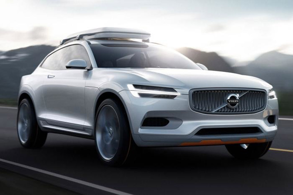 Volvo Concept XC Coupe, 2014 Detroit Auto Show
