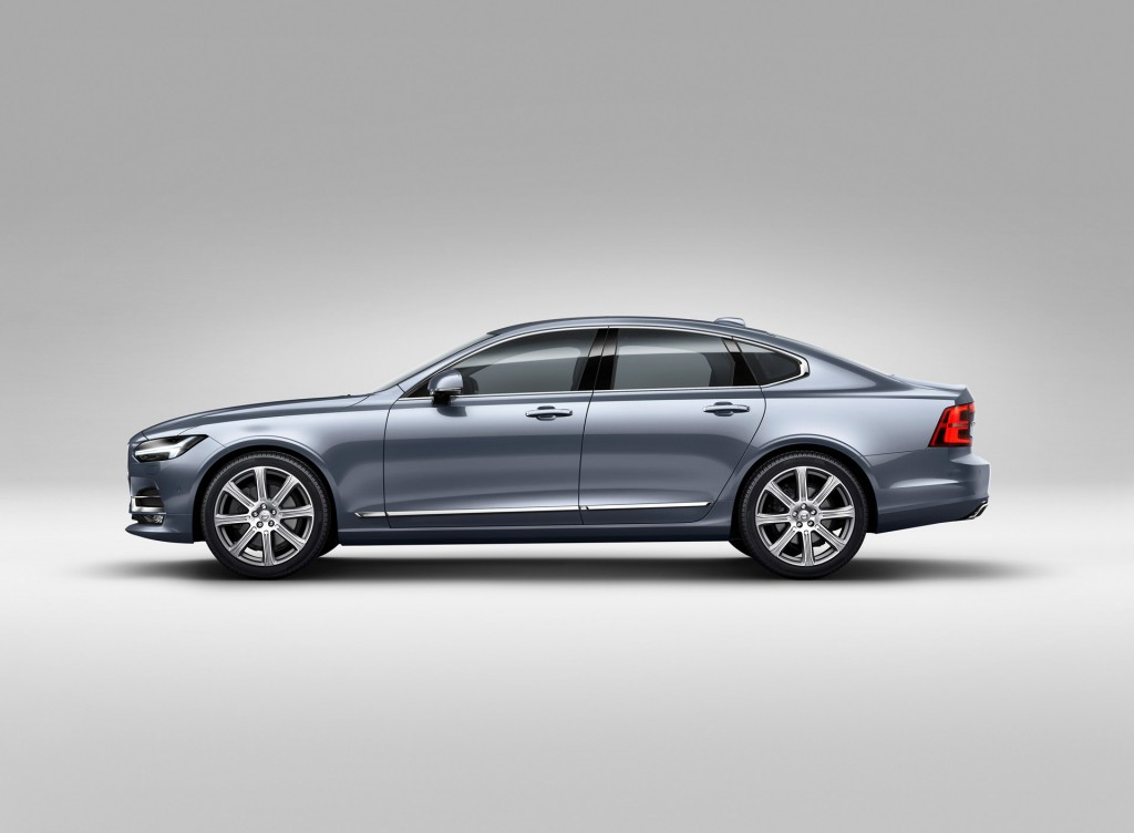 2017 Volvo S90 Preview Video