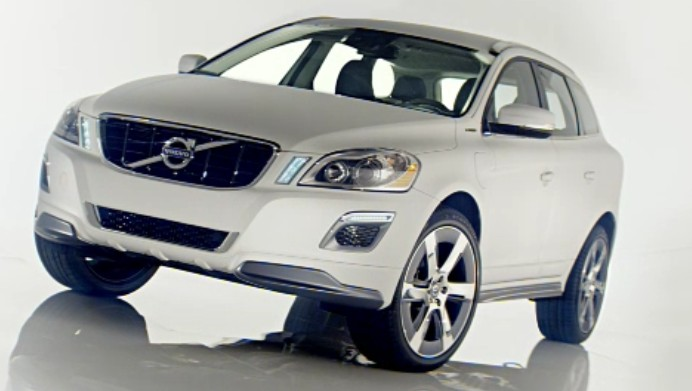 volvo xc 60 plug in hybrid concept heads to 2012 detroit auto show. Black Bedroom Furniture Sets. Home Design Ideas