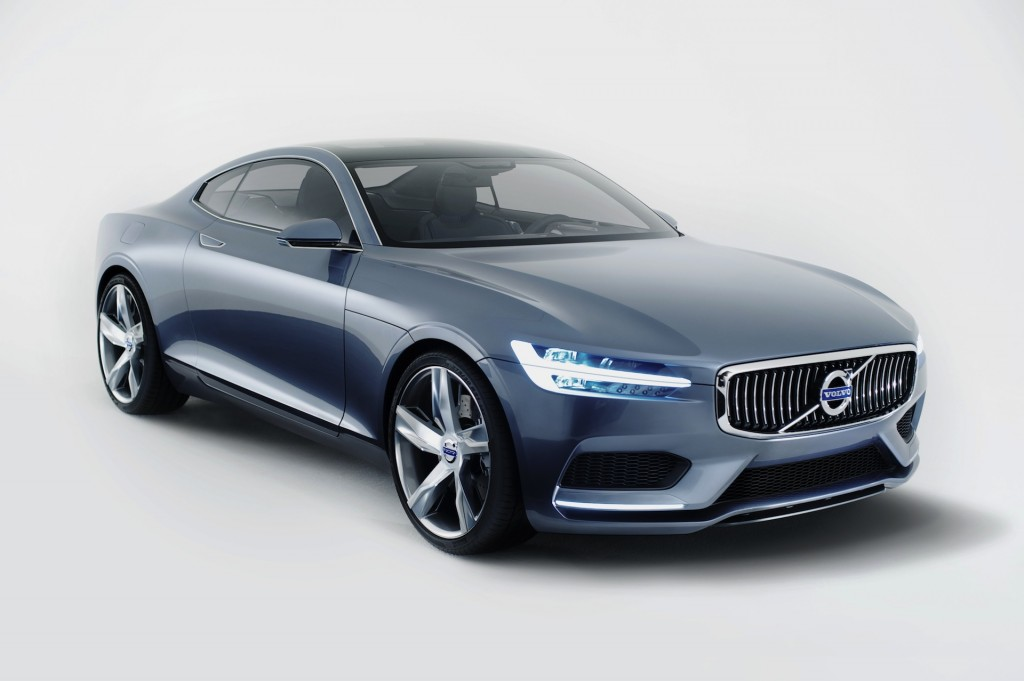 This Is What Volvos Will Look Like Under Geely: Concept Coupe Revealed