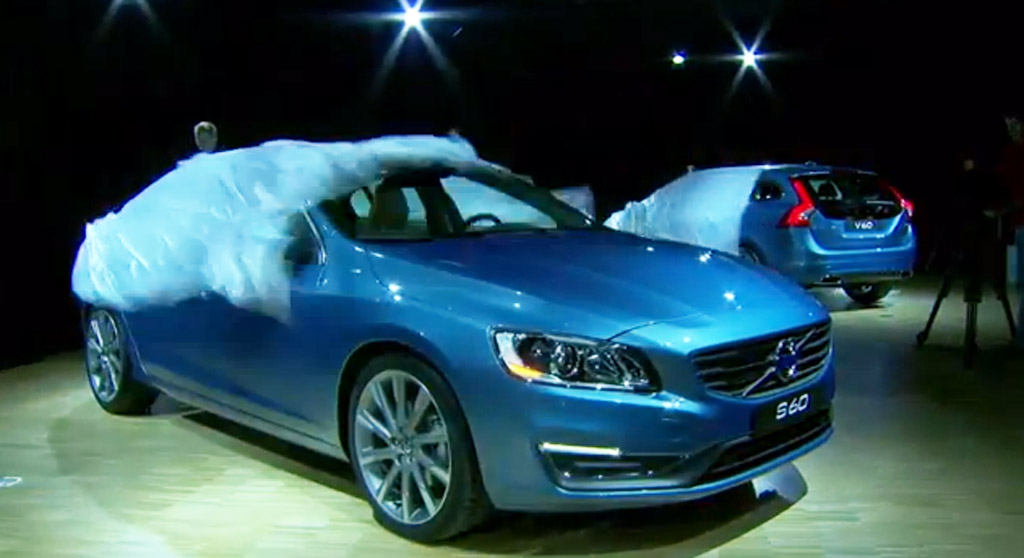 Volvo's 2014 model range launch event