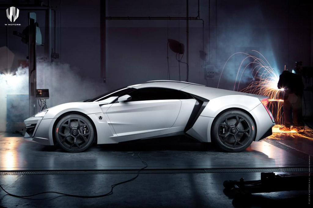 Arabia s first supercar the w motors lykan hypersport for K and w motors