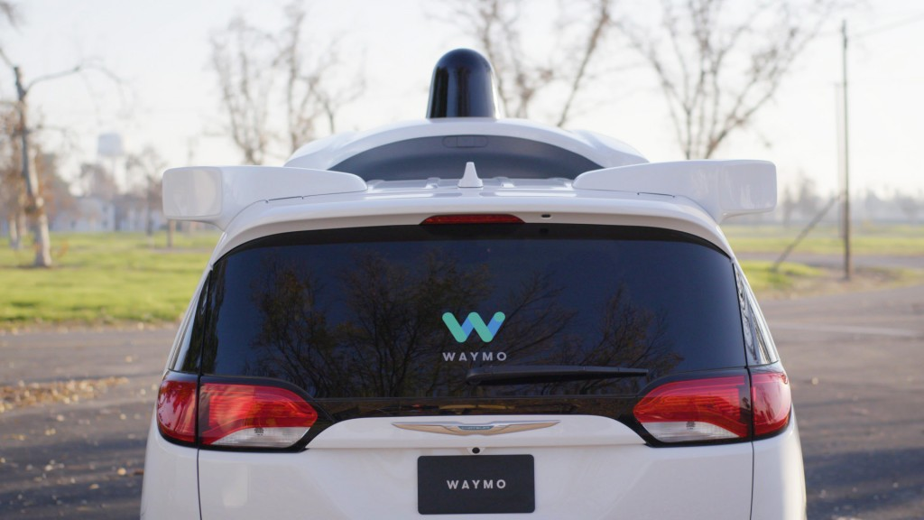 Waymo self-driving car prototype