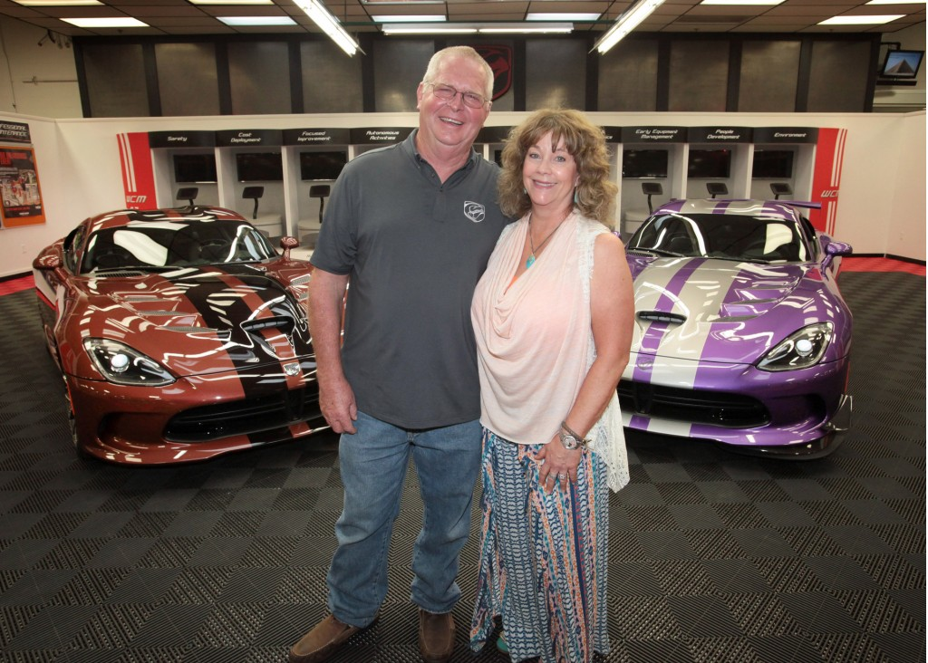 Wayne Rauh and wife D'Ann take delivery of their their 78th and 79th ...