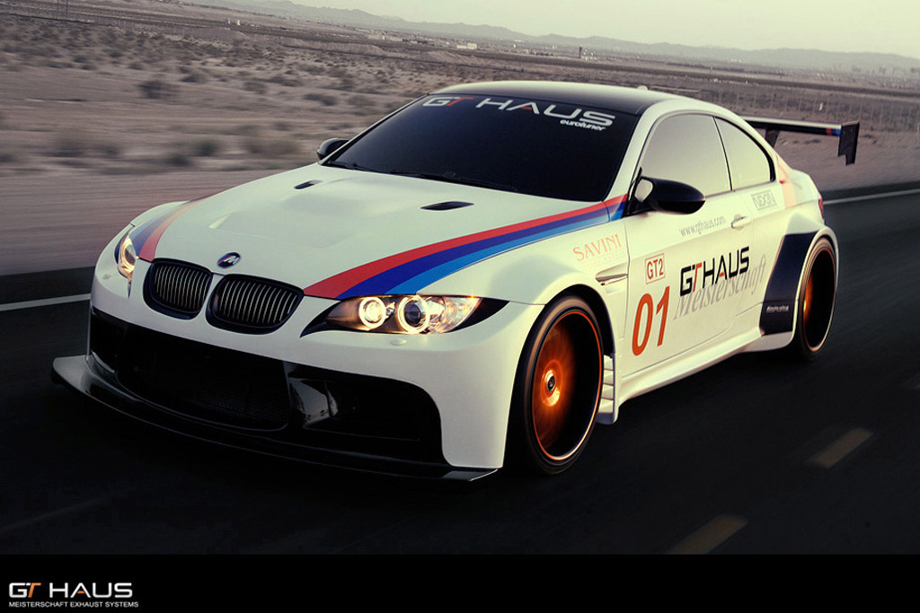 make your bmw m3 look like a gt2 race car with gthaus. Black Bedroom Furniture Sets. Home Design Ideas