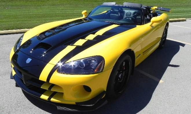 Special Dodge Viper SRT10 ACR Convertible Built For Top Dealer