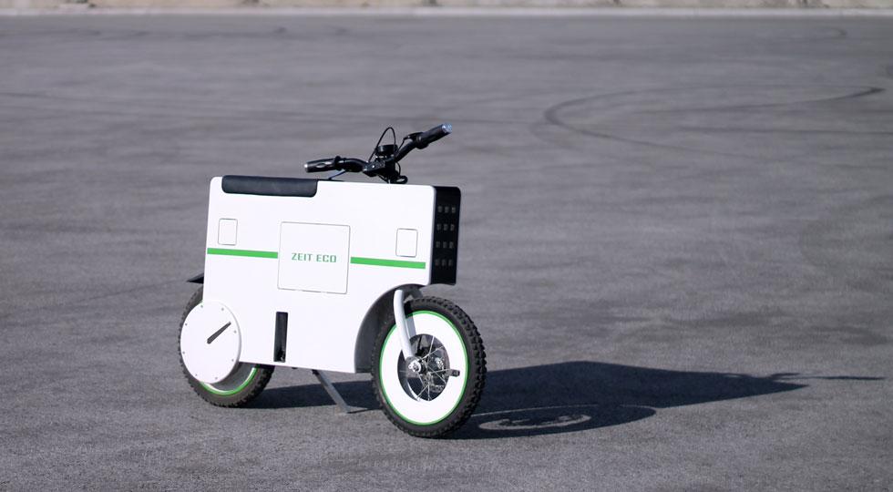 Zeit Eco electric scooter (Images: Zeit)