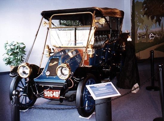 A 1912 Franklin, one of the Northeast museum's classics on display