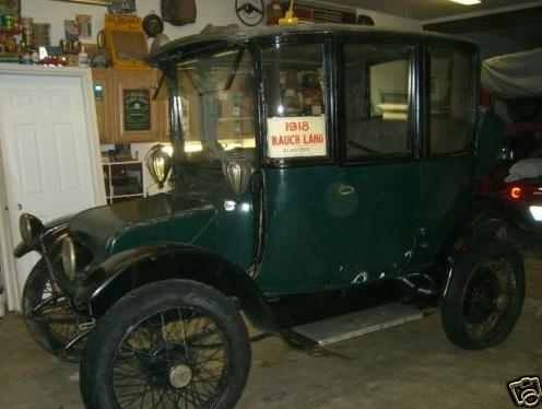 1918 Rauch & Lang electric car