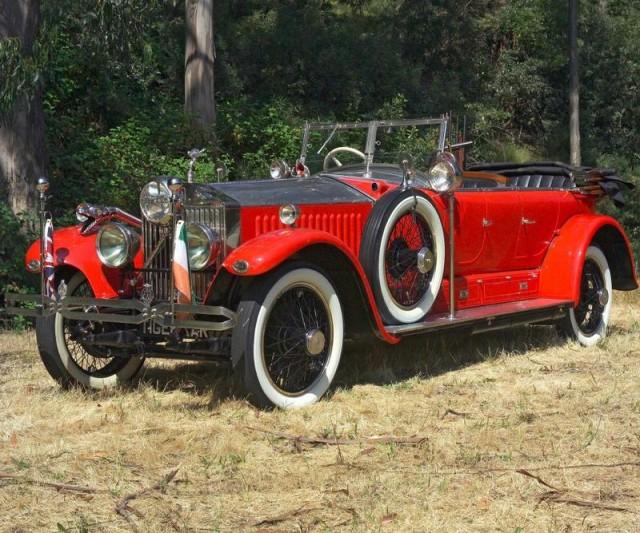 1925 Rolls-Royce Phantom I Maharaja Car (Barrett-Jackson)