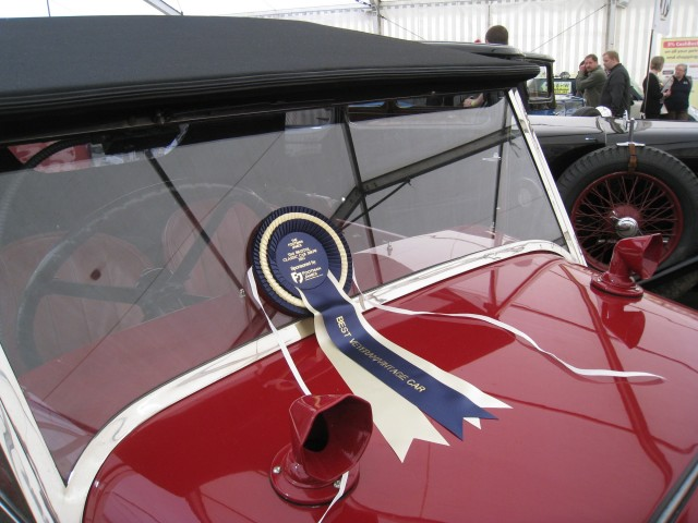 1929 MG 14/40 Mk IV wins award. Image credit: Early MG Society www.earlymgsociety.co.uk