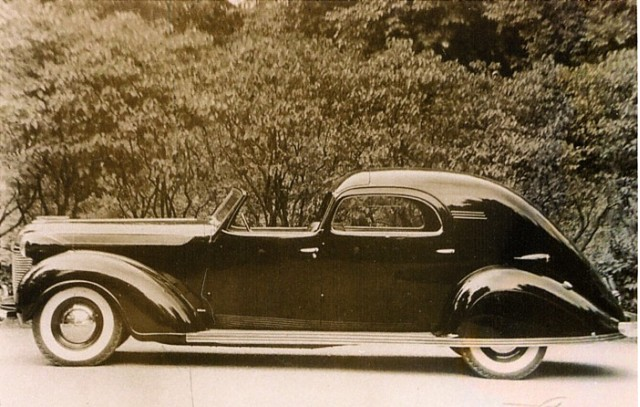 1937 Chrysler Imperial Town Car  Image: Suffolk County Vanderbilt Museum
