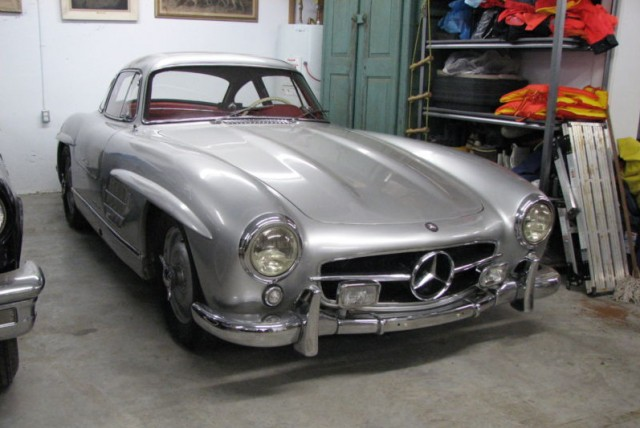 1956 mercedes benz 300sl barn find. Black Bedroom Furniture Sets. Home Design Ideas