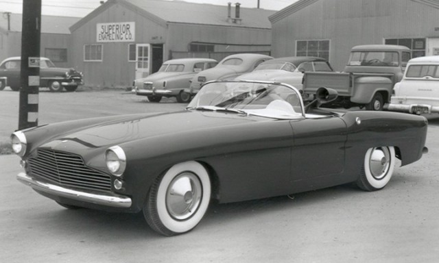 1956 Vectress fiberglass-bodied sports car