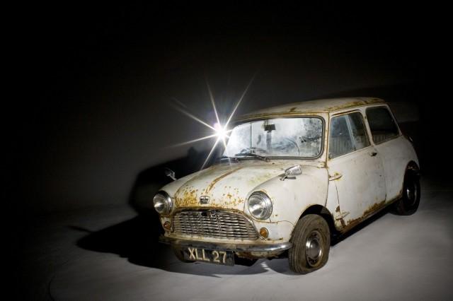 1959 Austin Mini Se7en De Luxe Saloon
