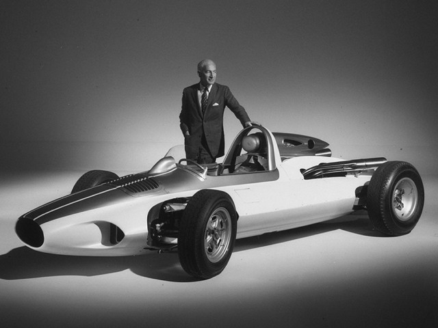 1960 Chevrolet Engineering Research Vehicle (CERV) 1 - Image via RM Auctions