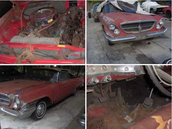 1962 Chrysler 300 project on Craigslist.