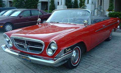 1962 Chrysler 300 Sport Convertible. Image via AmericanTorque.com