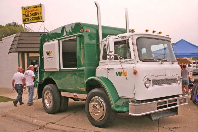 1962 International Garbage Truck
