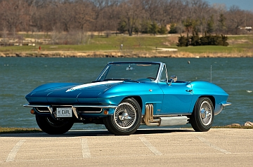 1963 Corvette built for Harley Earl