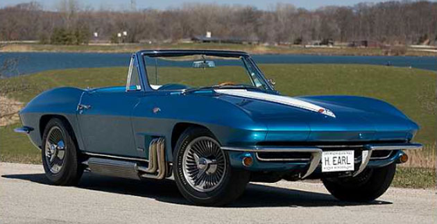 Harley Earl S Personal 1963 Corvette For Sale By Mecum