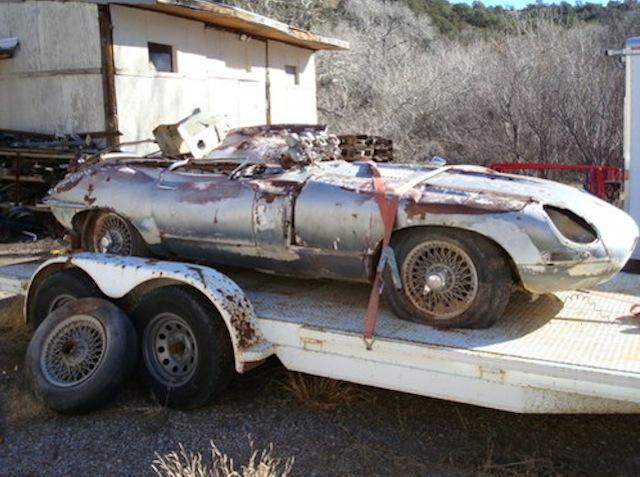 1963 Jaguar E-Type Coupe - image: eBay Motors