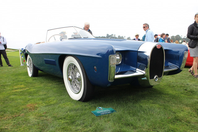 1965 Bugatti Type 101C Virgil Exner Ghia Roadster, 2017 Pebble Beach Concours d'Elegance