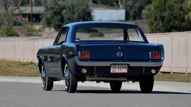 1965 Ford Mustang with VIN ending in 00002