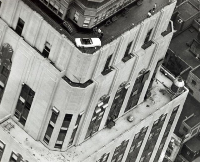 1965 Mustang empire state building