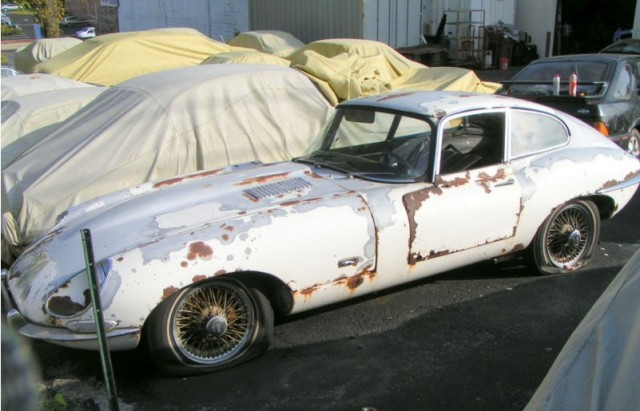 1968 Jaguar E-Type Coupe, for sale on eBay, April 2013