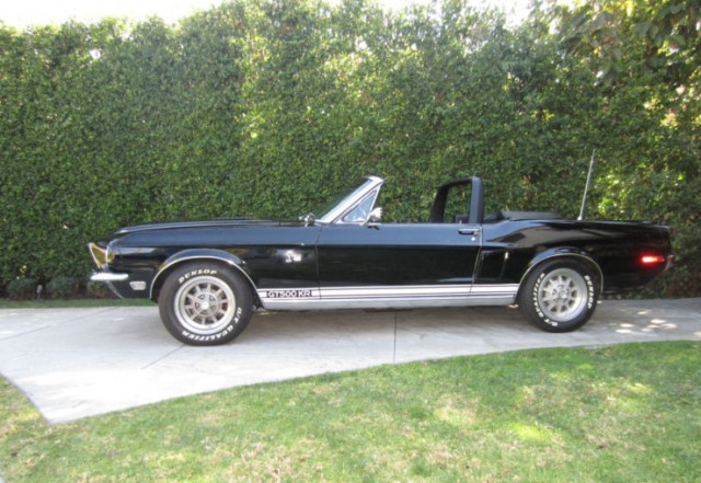 1968 Shelby GT500KR Convertible, for sale on eBay - image: eBay Motors