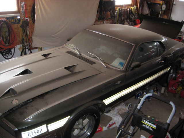 1969 Mustang Shelby GT500 Cobra Jet Found In Pristine Condition