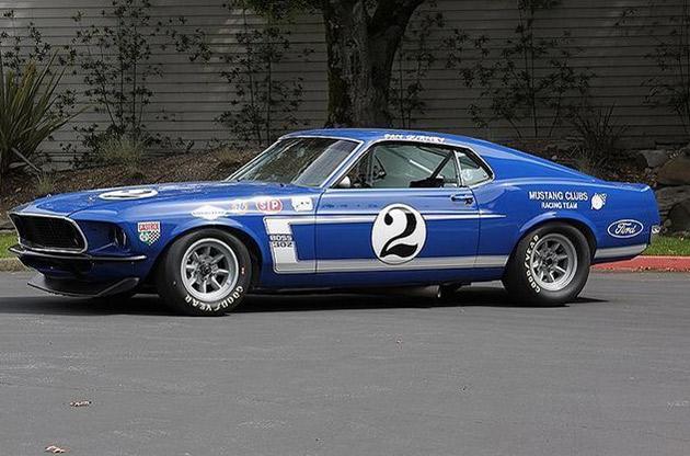 Dan Gurney 1969 Trans Am Shelby Mustang Boss 302 On Ebay