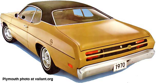 1970 Plymouth Duster - factory photo