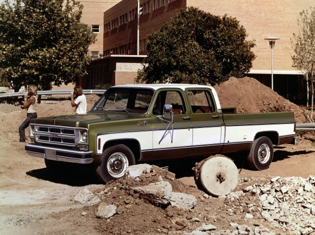 1975 GMC 2500 Sierra Classic Crew Cab
