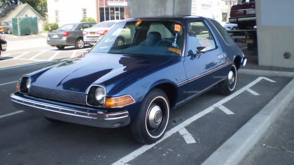 1977 AMC Pacer: possibly the world's most original