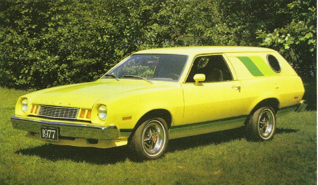 1977 Ford Pinto Cruising Wagon, photo by Wikipedia user Vegavairbob