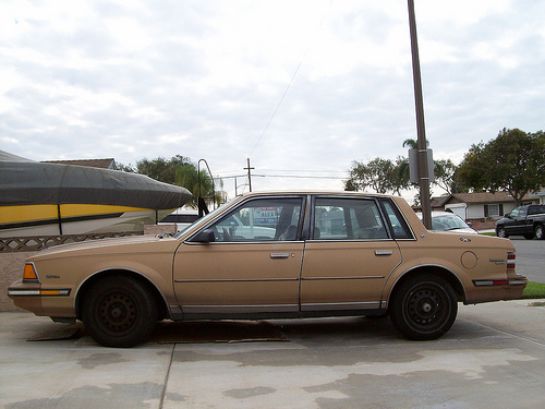 1985 Buick Century, Gross Polluter, by Flickr user head36